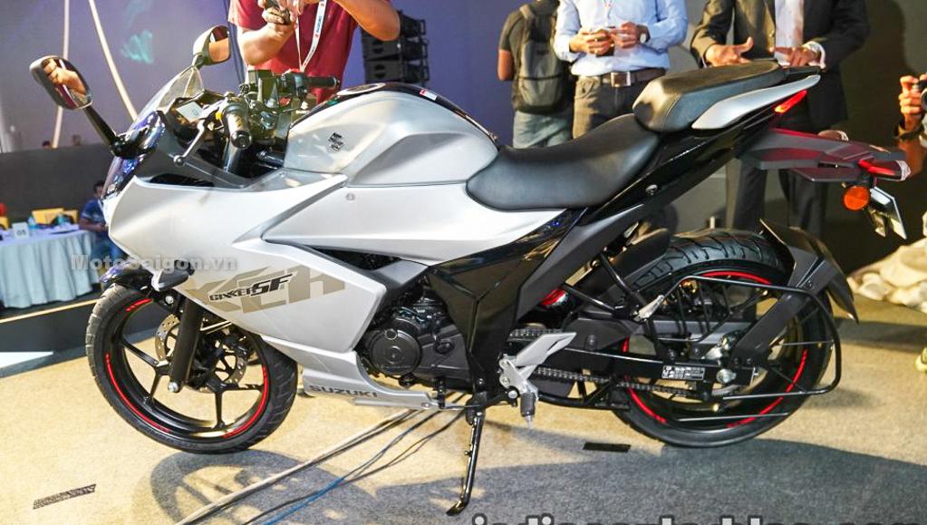 Suzuki Gixxer SF 155 giá bán 37 triệu chính thức ra mắt