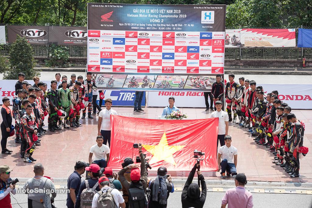 Toàn cảnh VMRC 2019 chặng 2 tại SVĐ Mỹ Đình, Hà Nội