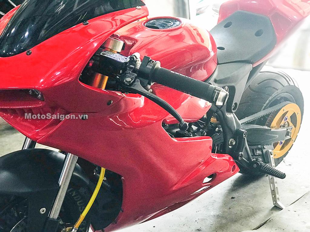 Cực độc Moto mini độ dáng Ducati Panigale của thợ Việt