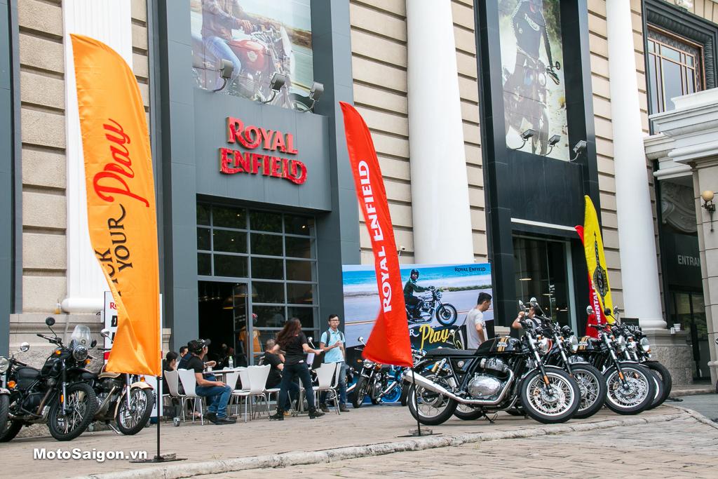 Lễ ra mắt chính thức bộ đôi Royal Enfield 650cc kết hợp bàn giao xe