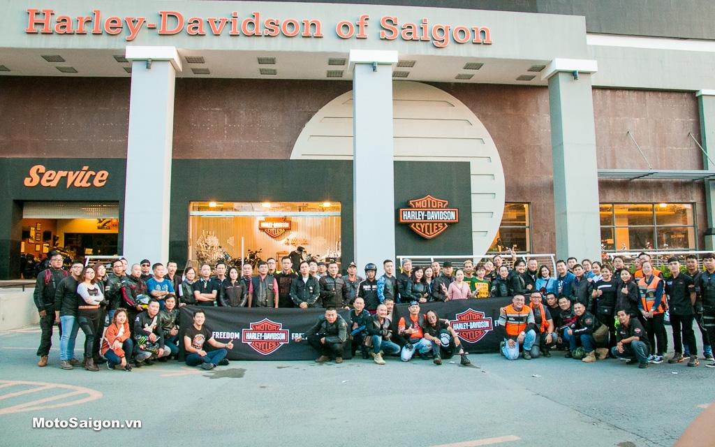Biker Weekend 2019 toàn cảnh ngày đầu tiên TPHCM-Đà Lạt