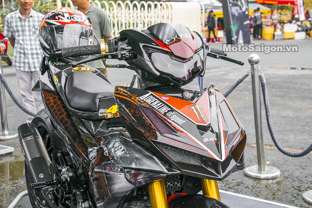 Exciter Báo đen đoạt giải nhất (quán quân) Cuộc thi xe đẹp 2019 do Yamaha Việt Nam tổ chức
