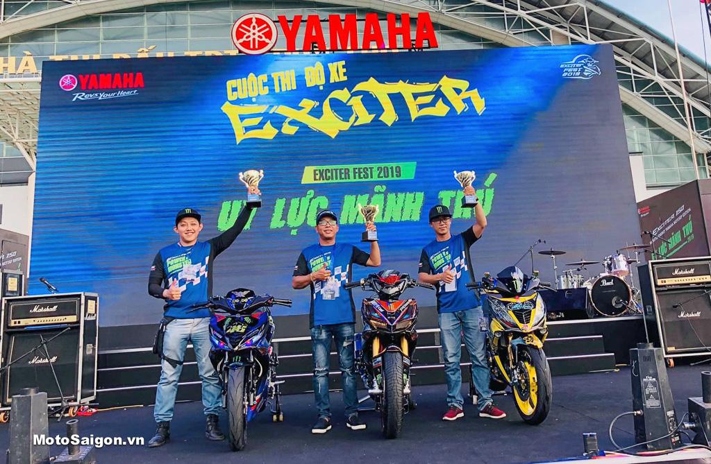 Exciter Báo Đen độ hơn 350 triệu đồng đoạt giải nhất Cuộc thi xe đẹp 2019