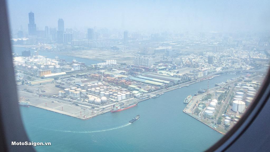 Toàn cảnh thành phố Cao Hùng, điểm tập trung khởi hành của Hành Trình AK550