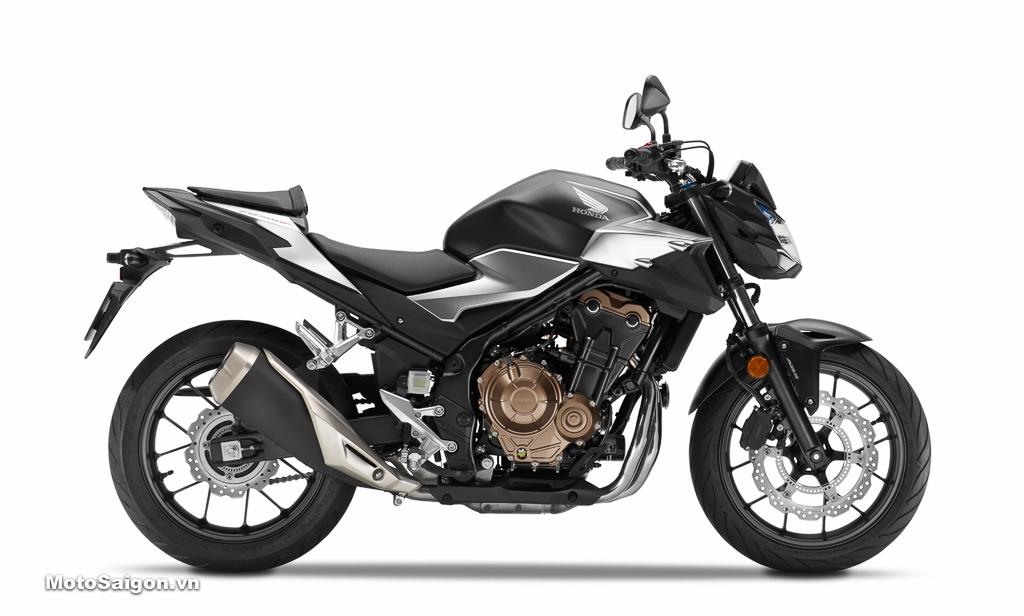 Honda CB500F 2019 màu bạc đen đã có giá bán