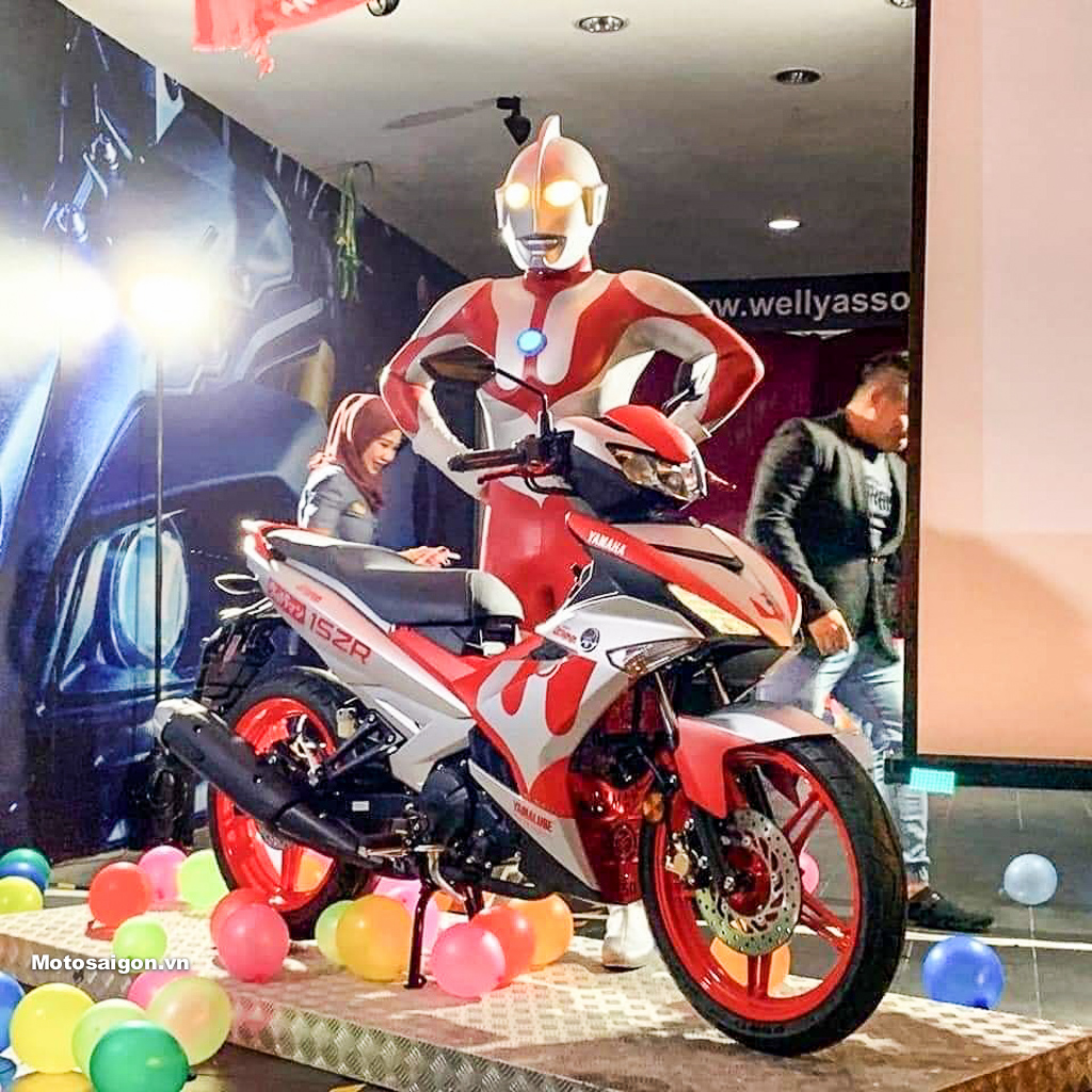 Exciter Siêu nhân điện quang Ultraman ra mắt tại Malaysia