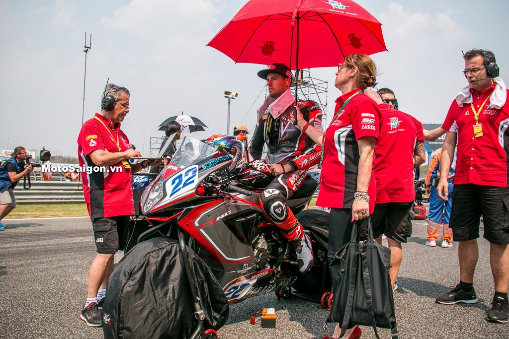 MV Agusta F3 RC của giải đua xe World SBK đẹp cỡ nào?