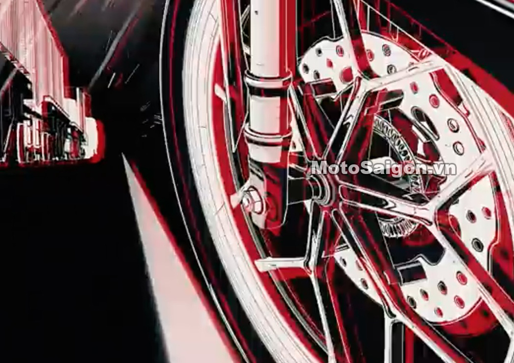 Vòng ABS trên phanh đĩa trước của Honda Winner X