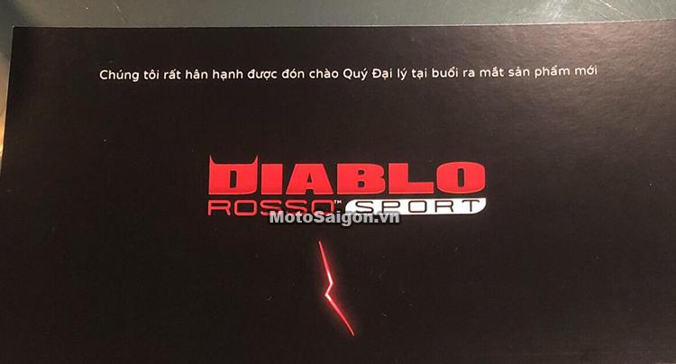 Giá lốp xe Pirelli Diablo Rosso Sport dành cho Underbone sắp được công bố