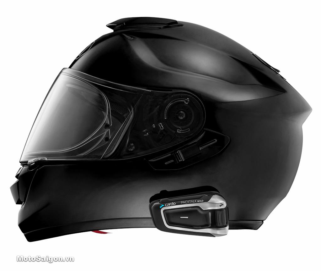 Tai nghe Cardo PackTalk BOLD dành cho biker đam mê đi phượt