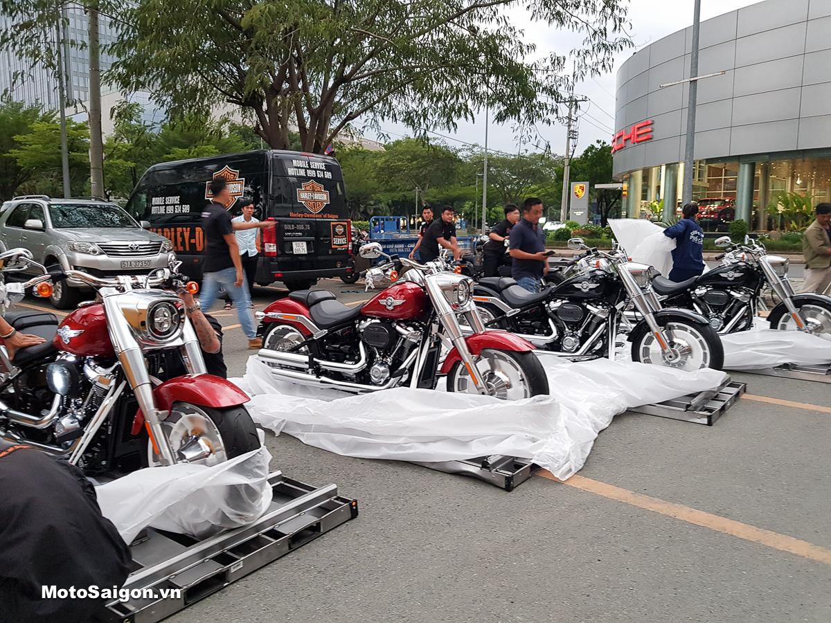Harley-Davidson FAT BOY 114, FAT BOB 114, BreakOut 114