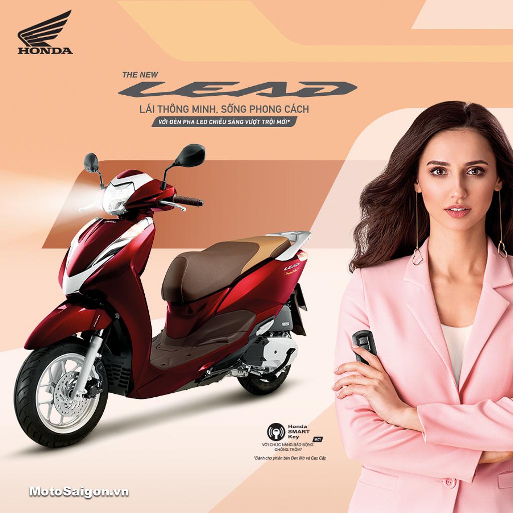 Honda Việt Nam ra mắt LEAD 125 mới kèm giá bán