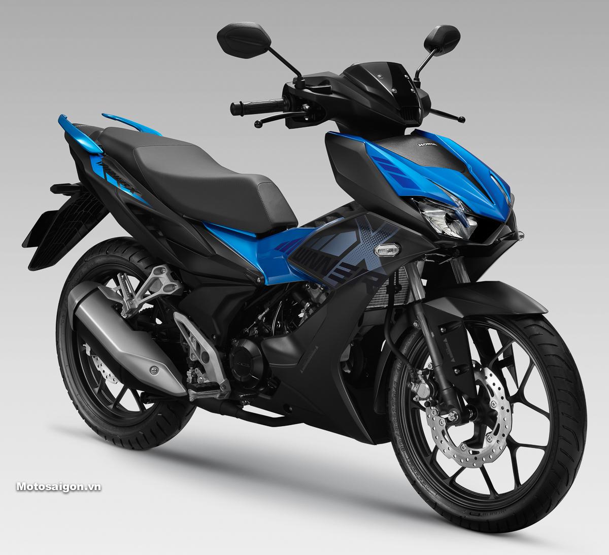 Giá xe Honda Winner X phiên bản thể thao màu Xanh Đen: 45.990.000đ