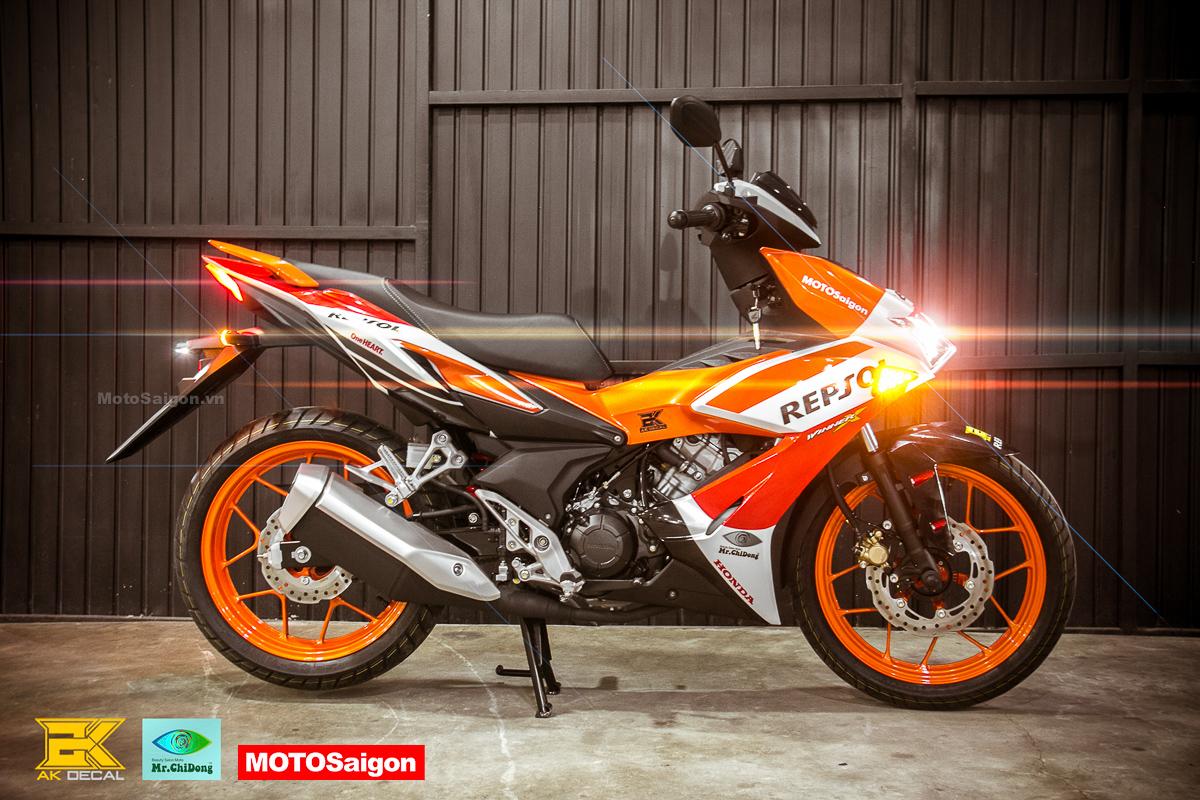Honda Winner X Repsol theo phong cách MotoGP bất ngờ xuất hiện