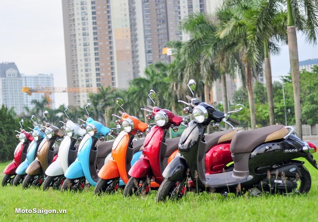 MONO 50 xe tay ga dành cho sinh viên học sinh giá bán chỉ hơn 10 triệu đồng