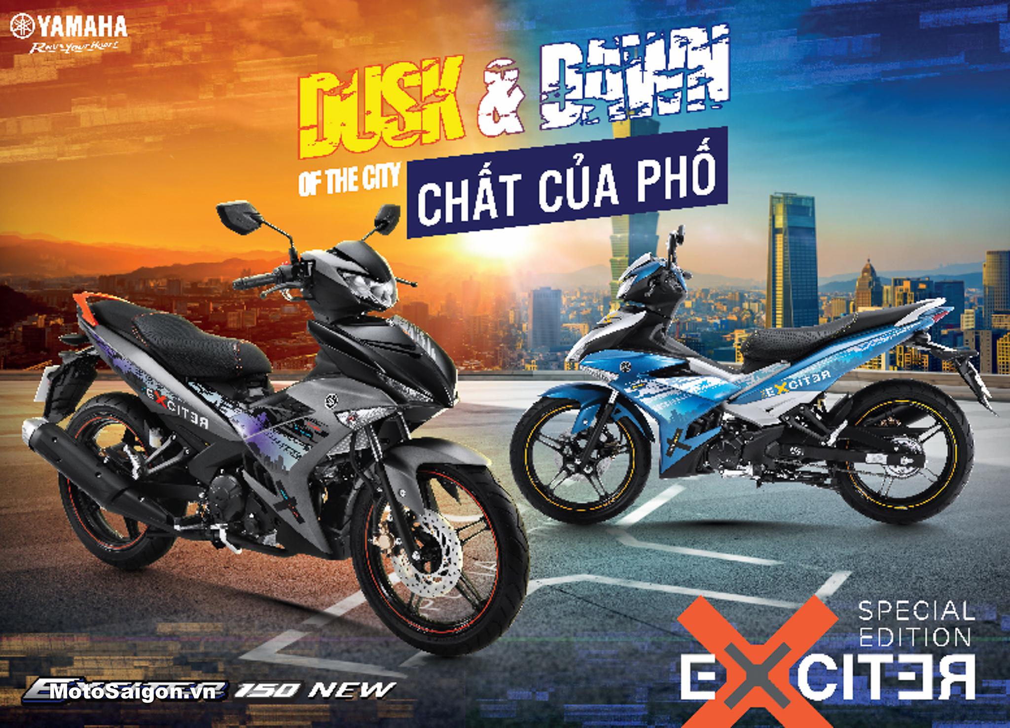 Yamaha Exciter 2019 mới không phải Exciter 155: phiên bản giới hạn đặc biệt Special Edition Dusk & Dawn
