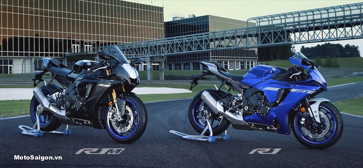 Yamaha R1 2020 lộ diện ngoại hình mới khá giống R6