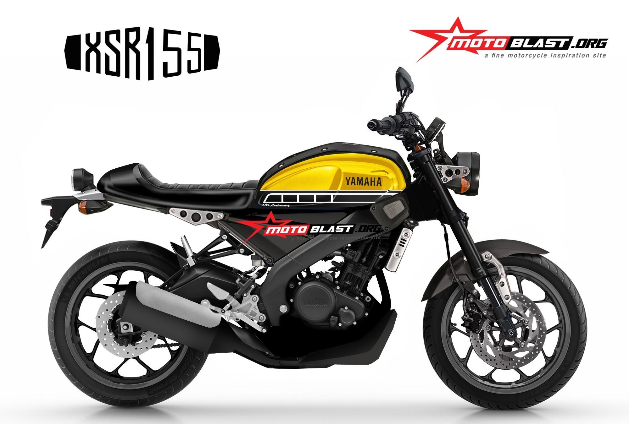XSR155 đối thủ của CB150R Exmotion lại lộ ảnh concept