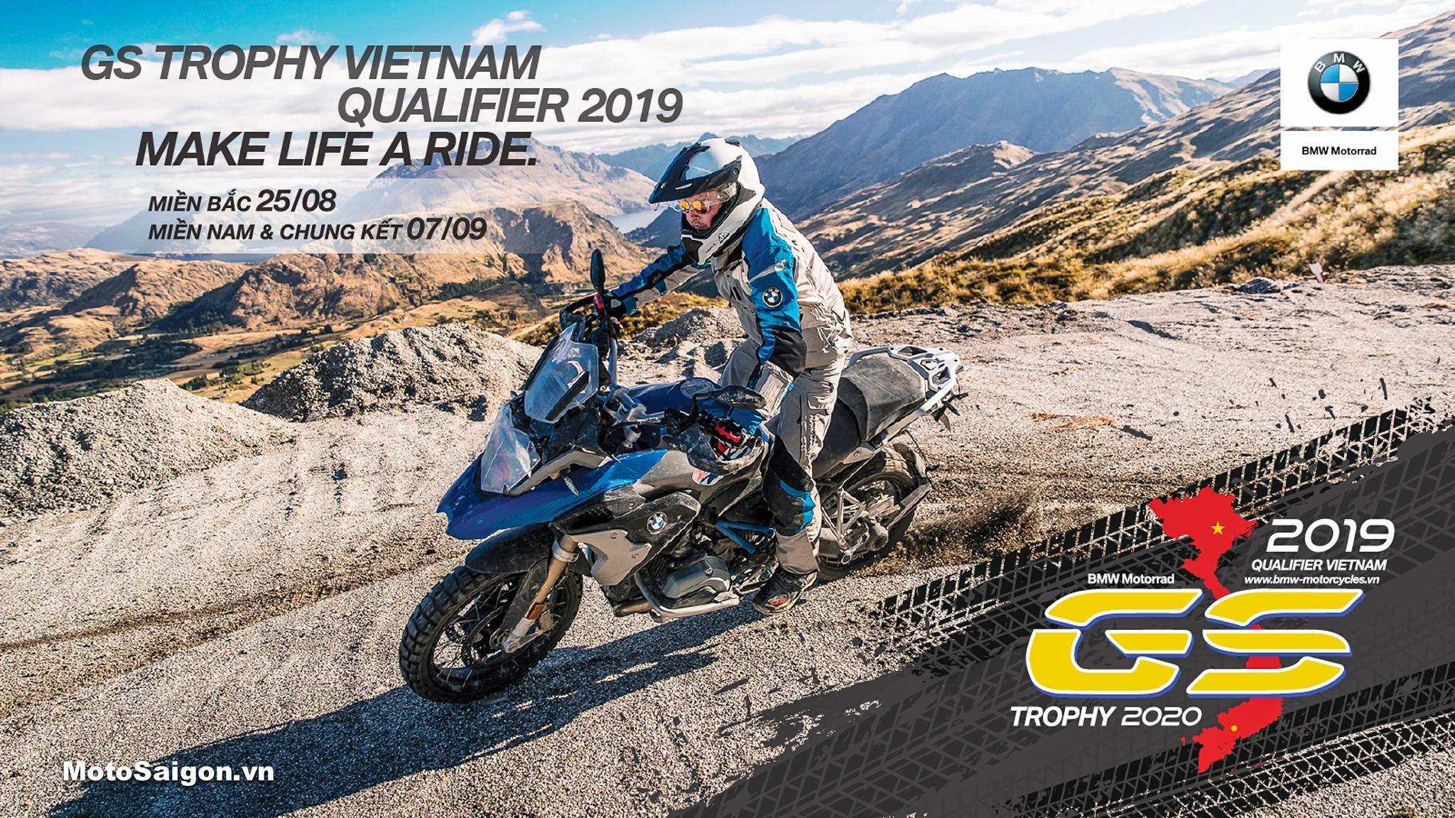 BMW MOTORRAD tổ chức vòng loại giải đua xe GS TROPHY VIỆT NAM