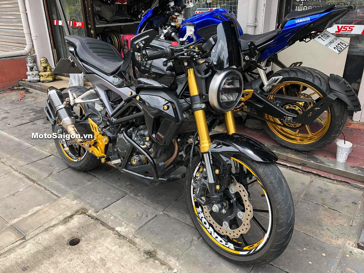 Honda CB150R Exmotion độ nhiều đồ chơi đáng tham khảo