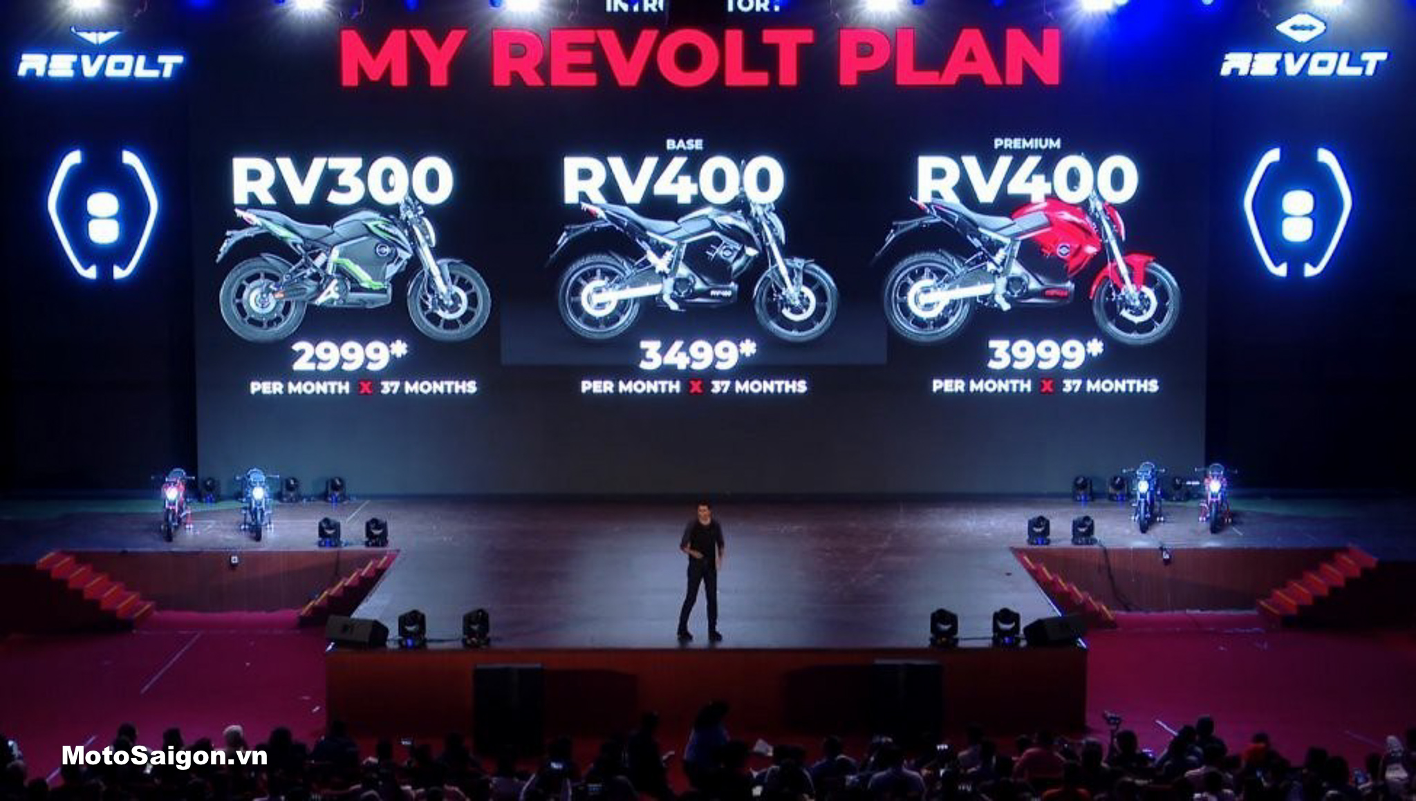 Moto điện Revolt RV300 RV400 đã có giá bán tại Ấn Độ