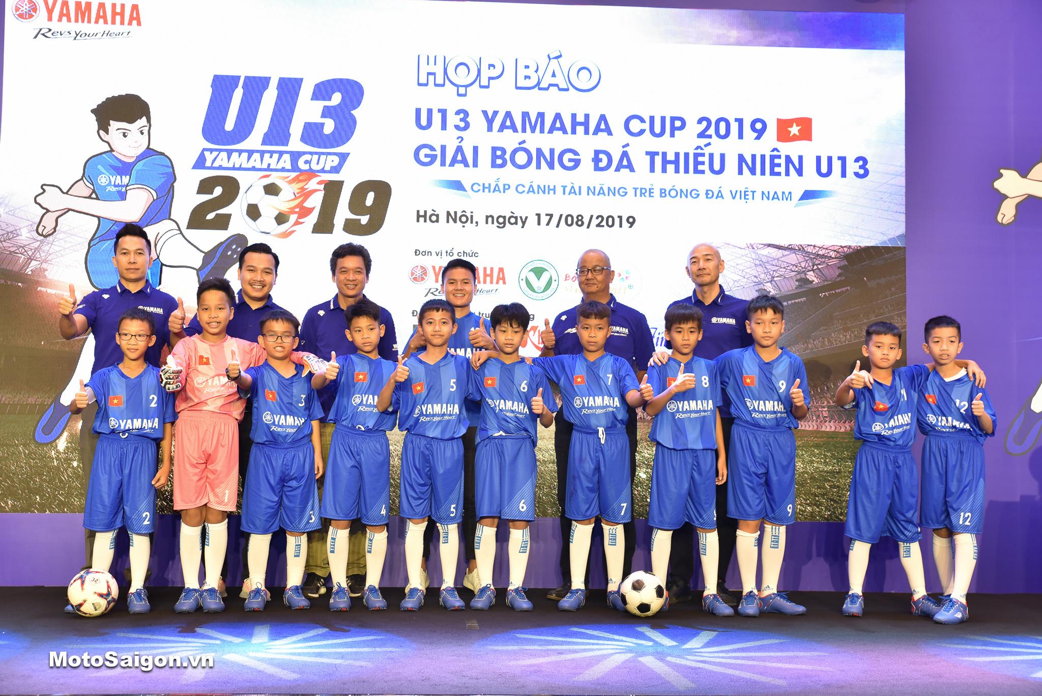 Thông tin Giải bóng đá thiếu niên U13 YAMAHA CUP 2019