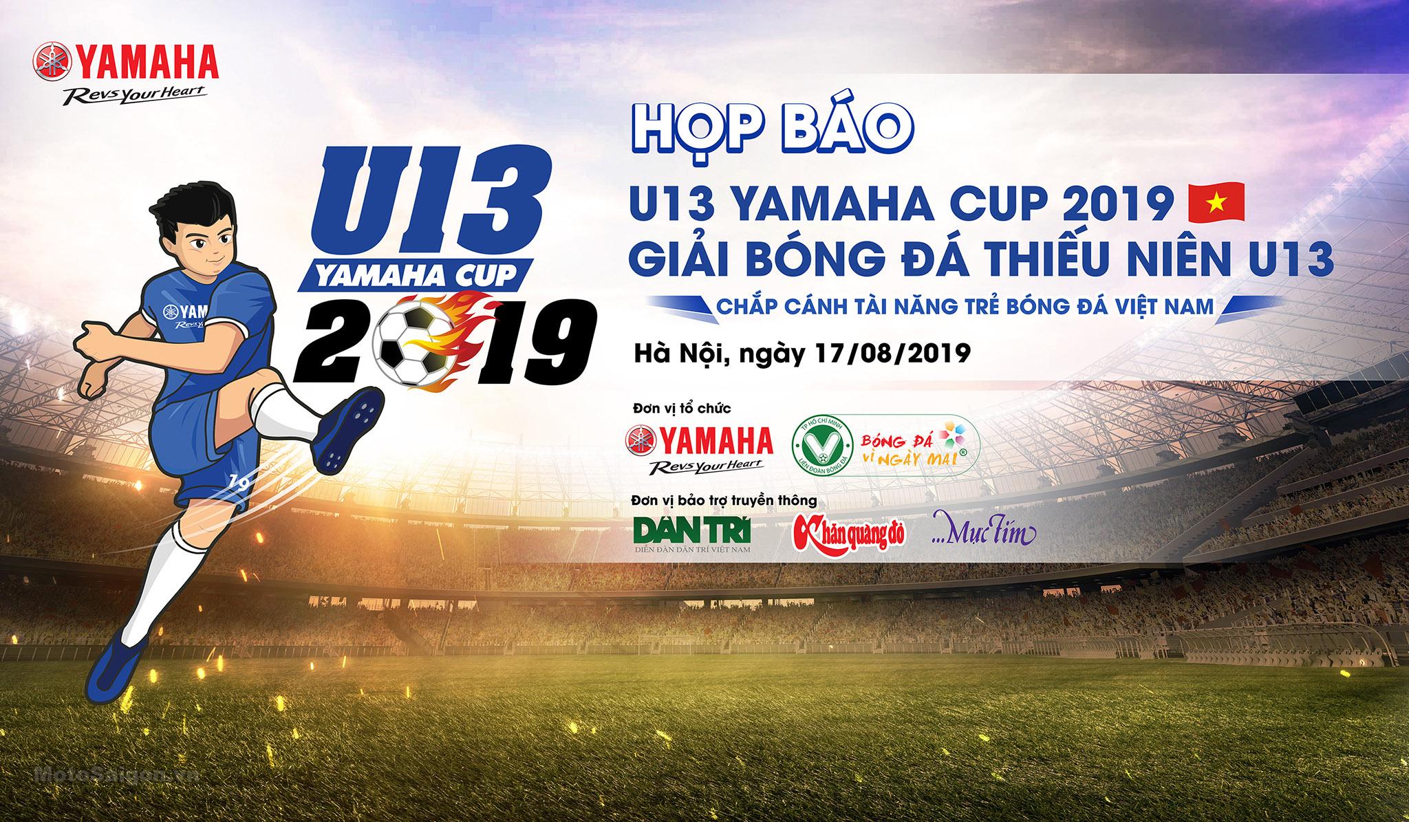 Yamaha Việt Nam đồng hành cùng Giải Bóng Đá U13 Yamaha Cup 2019
