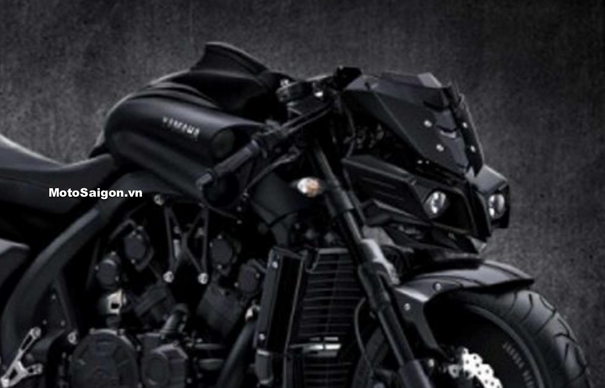 Yamaha VMAX 2020 lộ ảnh concept giống MT-10