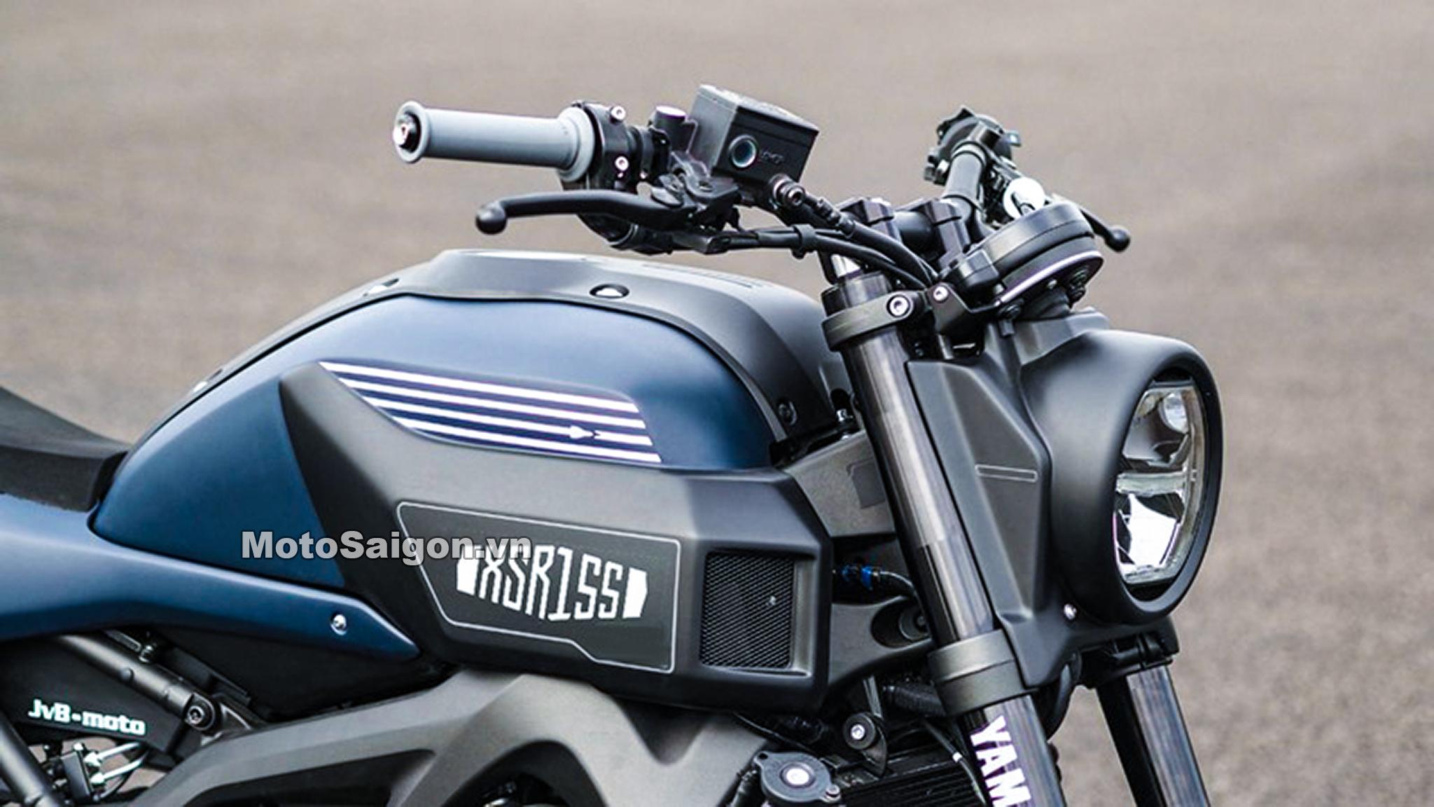 Yamaha XSR155 2020 lộ ảnh thực tế sắp có giá bán