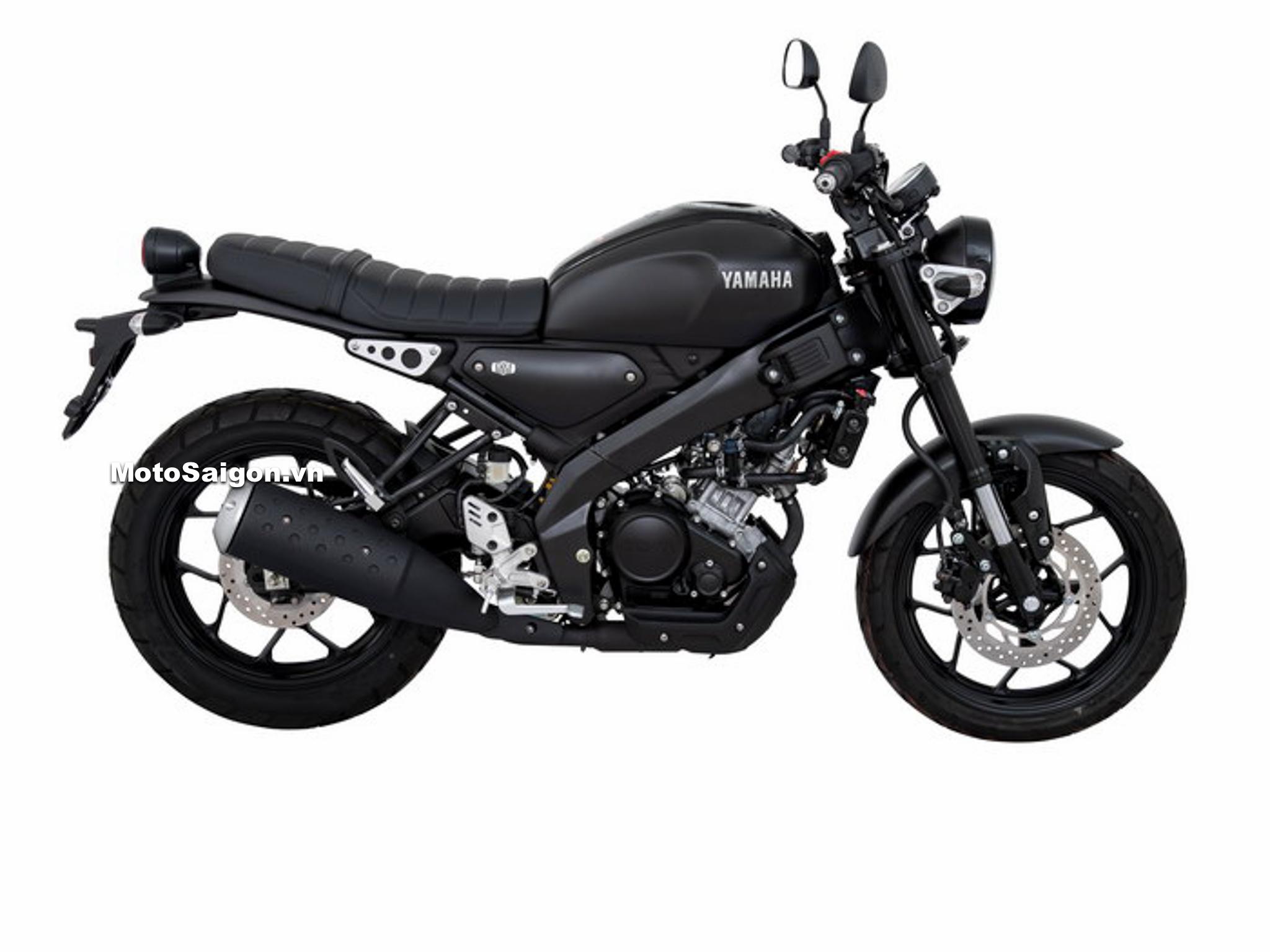 Yamaha XSR155 Wanderlust màu đen Black