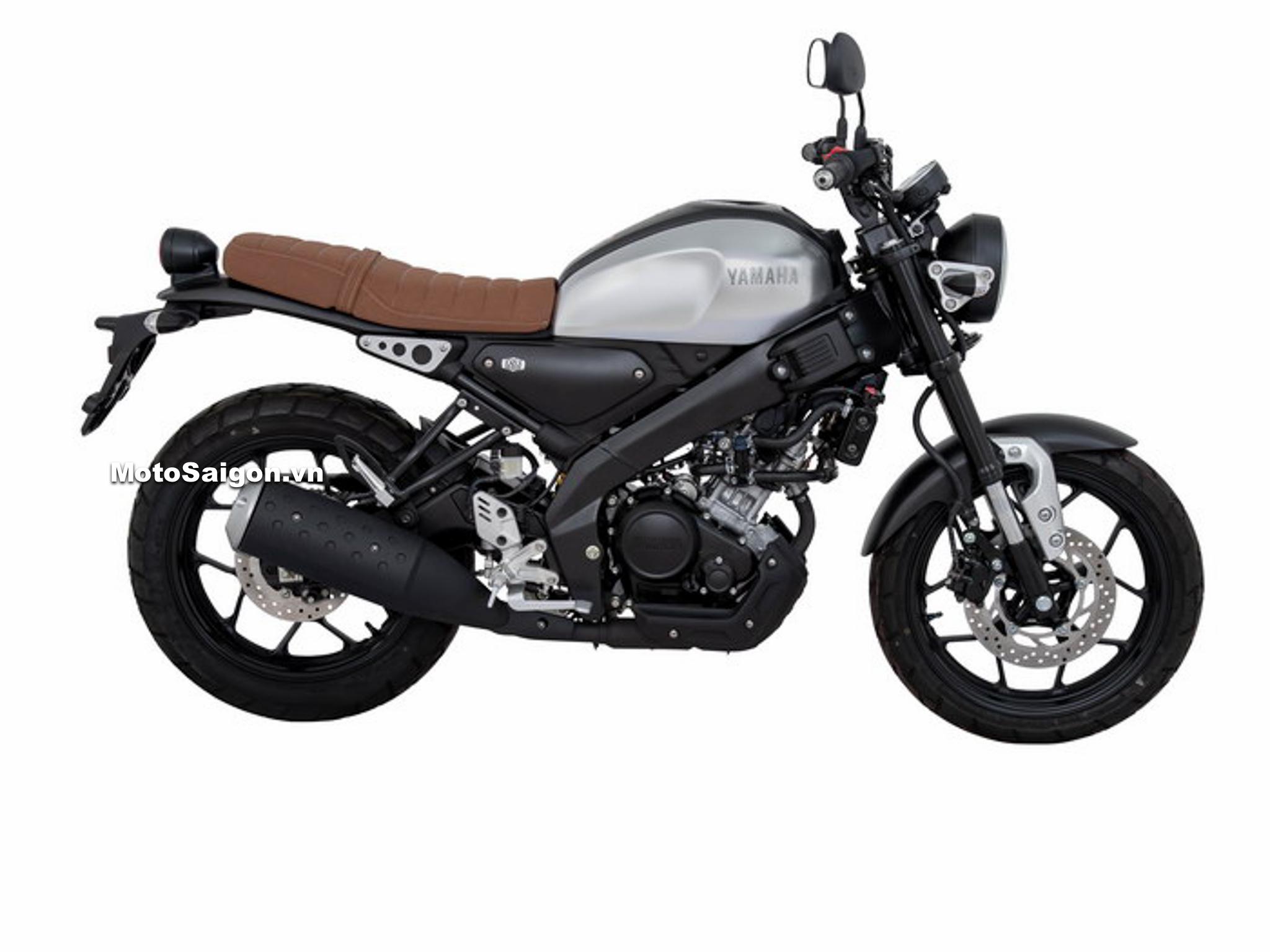 Yamaha XSR155 Premium màu Nâu Xám Grey-Brown