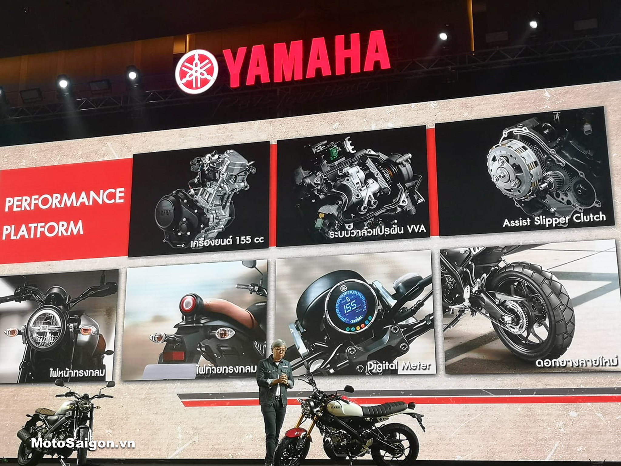 Đánh giá xe Yamaha XSR155 về ngoại hình kèm giá bán