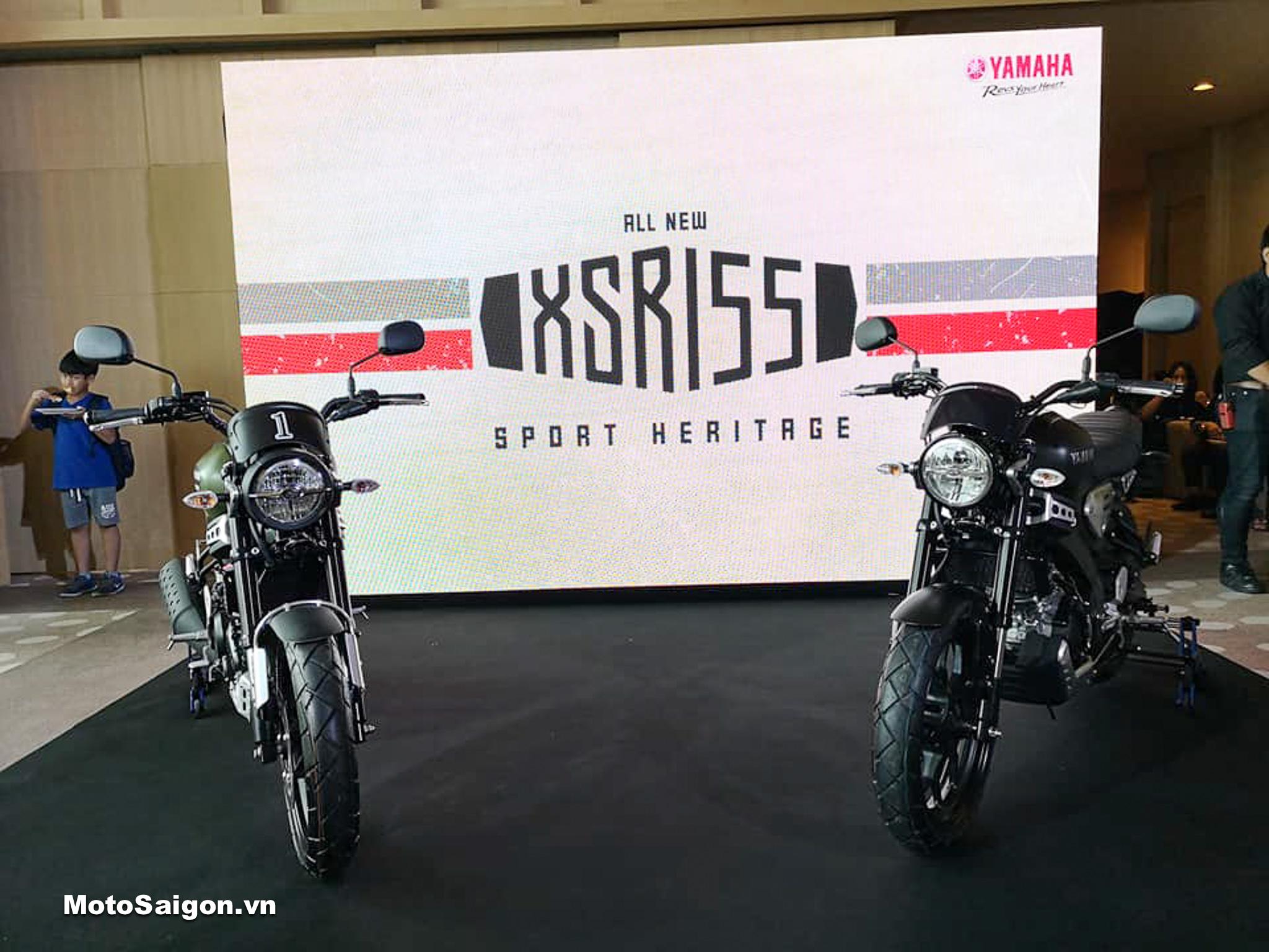Giá xe Yamaha XSR155 đối thủ của CB150R đã được công bố