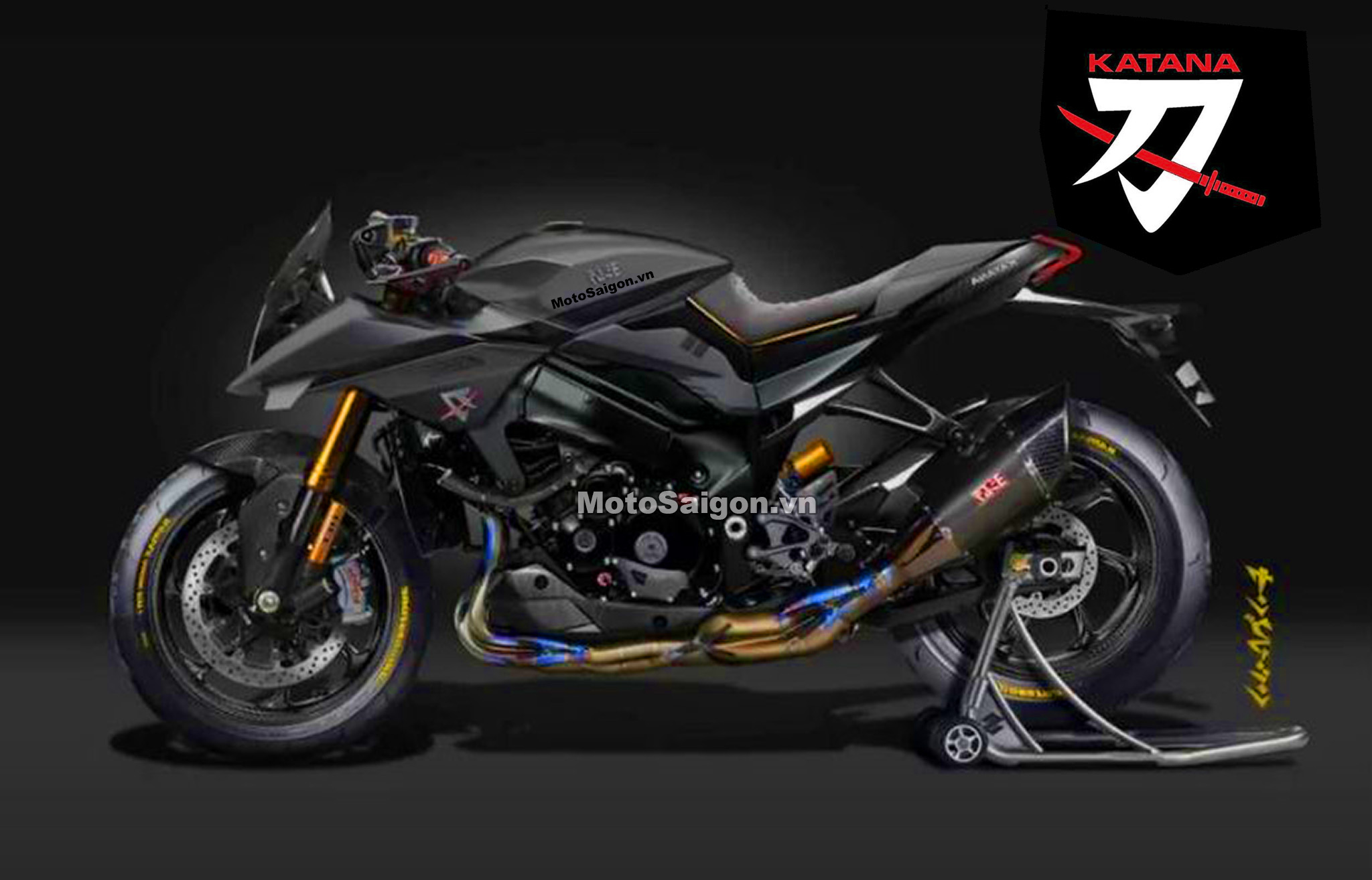 Suzuki Katana R hình ảnh concept