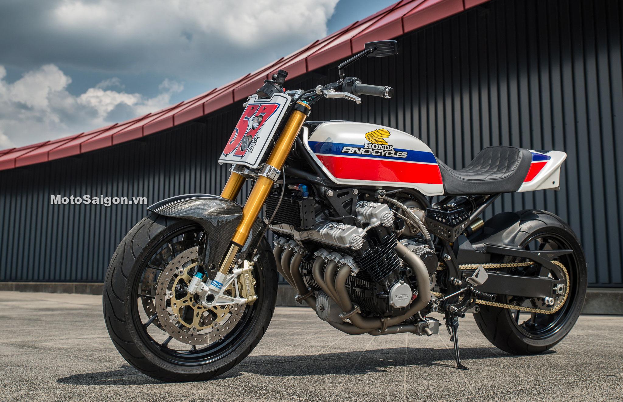 Honda CBX1000 6 xilanh thẳng hàng độ Turbo siêu khủng