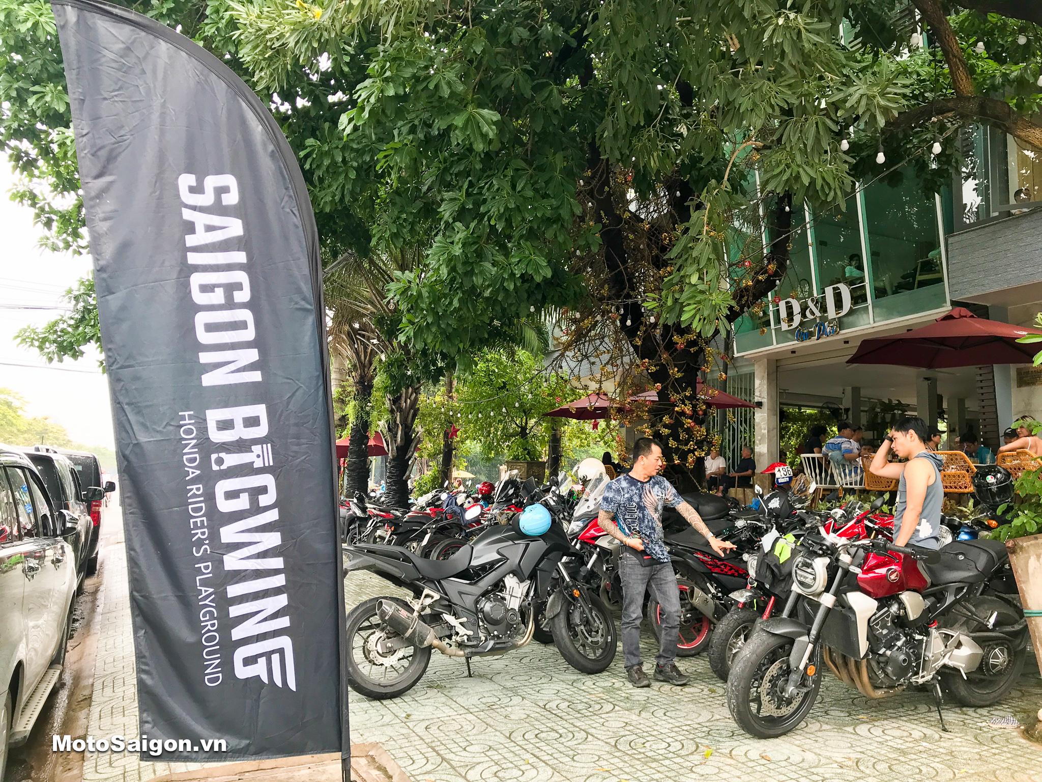 Honda Saigon BigWing offline tại quán Cafe D&D quận Bình Tân