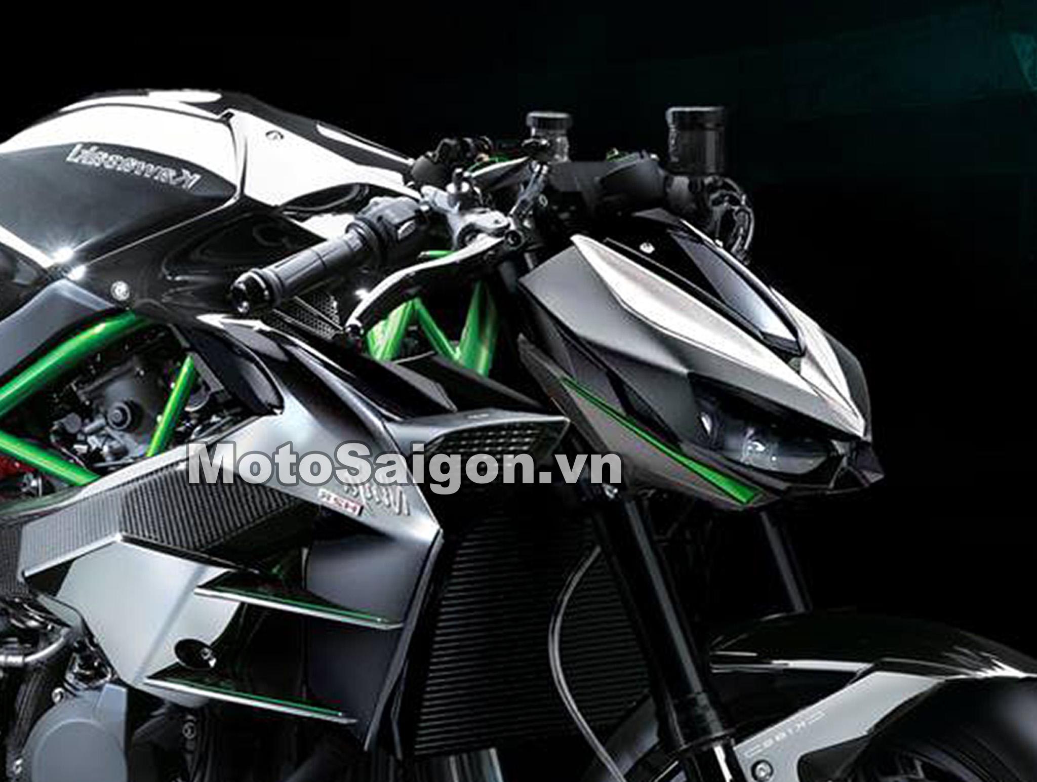 Z1000 2020 có Supercharged siêu nạp như H2 sắp có giá bán?