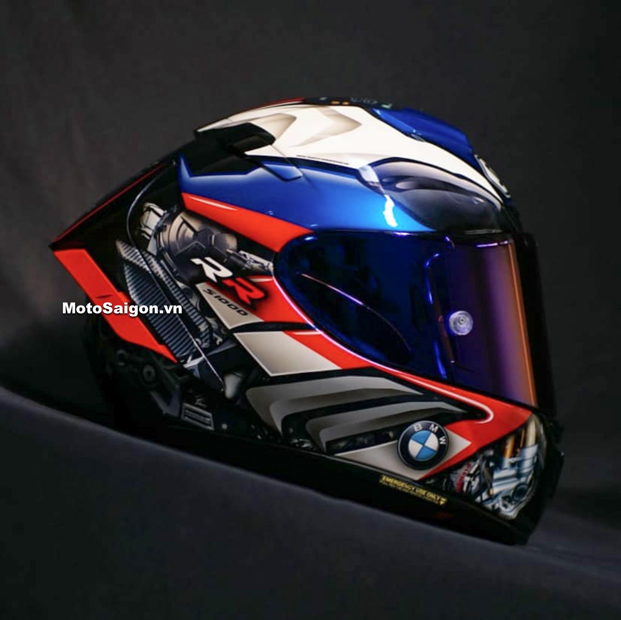 Nón bảo hiểm Shoei BMW S1000RR 2019 giá bán cực khủng