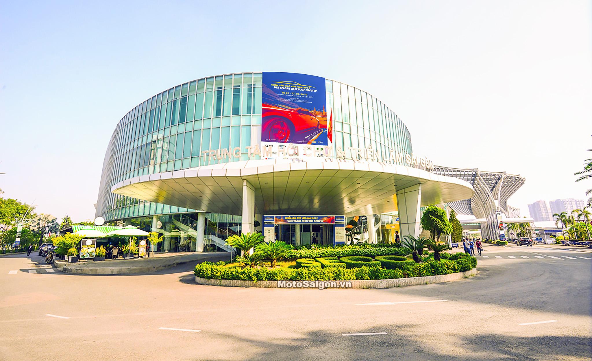 Địa điểm diễn ra triển lãm VMS 2019: Trung tâm Hội chợ và Triển lãm Sài Gòn - SECC Q7. Địa chỉ: 799 Nguyễn Văn Linh, Tân Phú, Quận 7, Hồ Chí Minh.