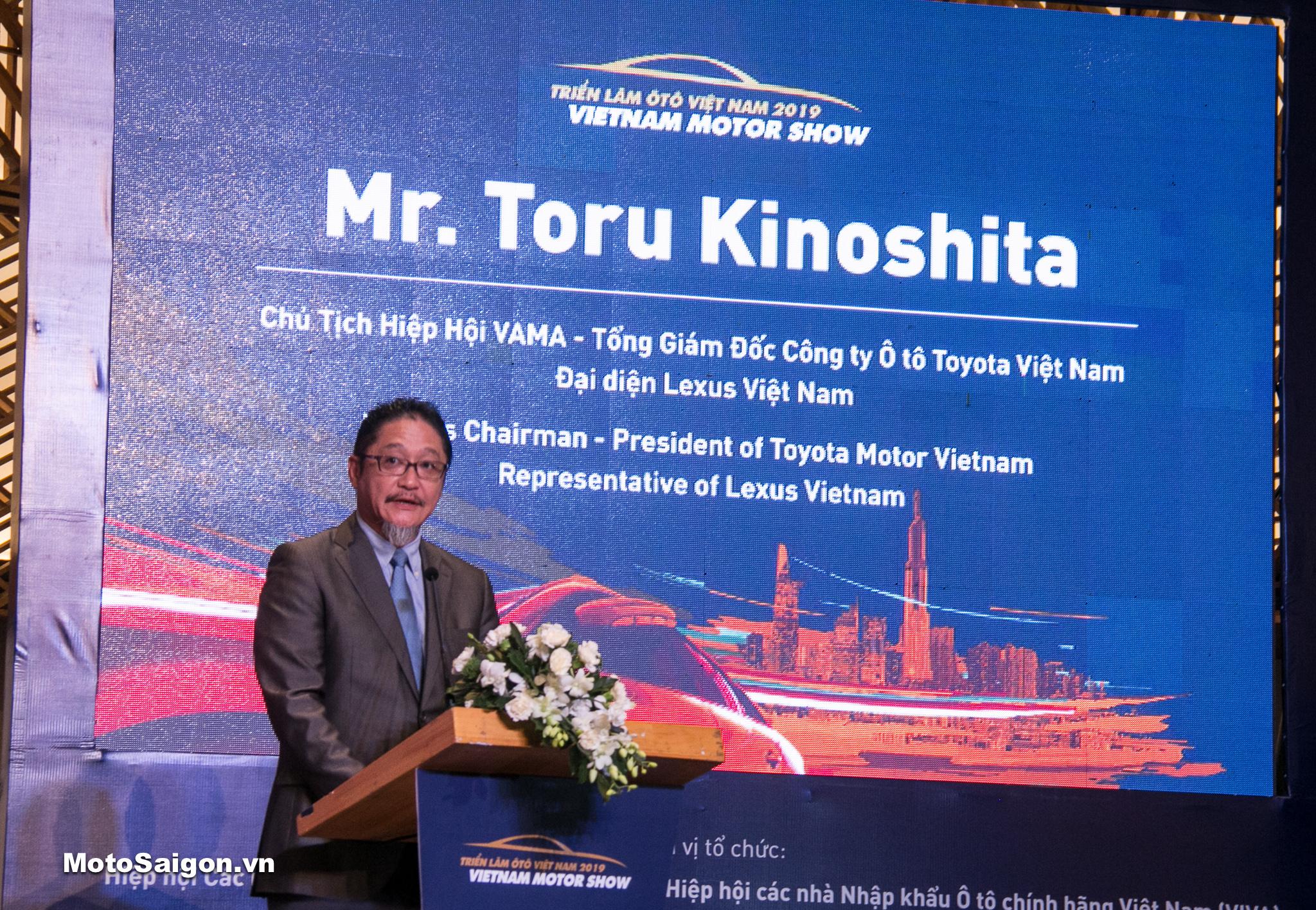 ông Toru Kinoshita, Chủ tịch VAMA