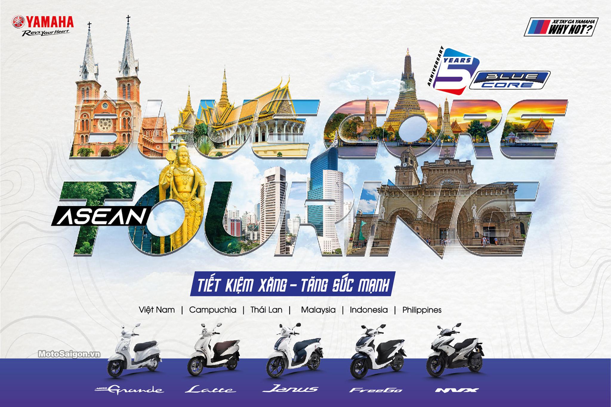 Lễ kỷ niệm 5 năm động cơ Blue-Core và Hành trình Asean Blue-Core Touring