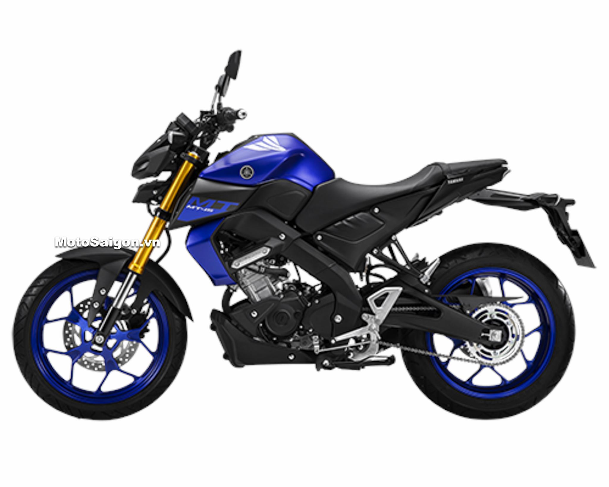 Yamaha MT-15 chính hãng màu Xanh GP giá bán 78 triệu đồng