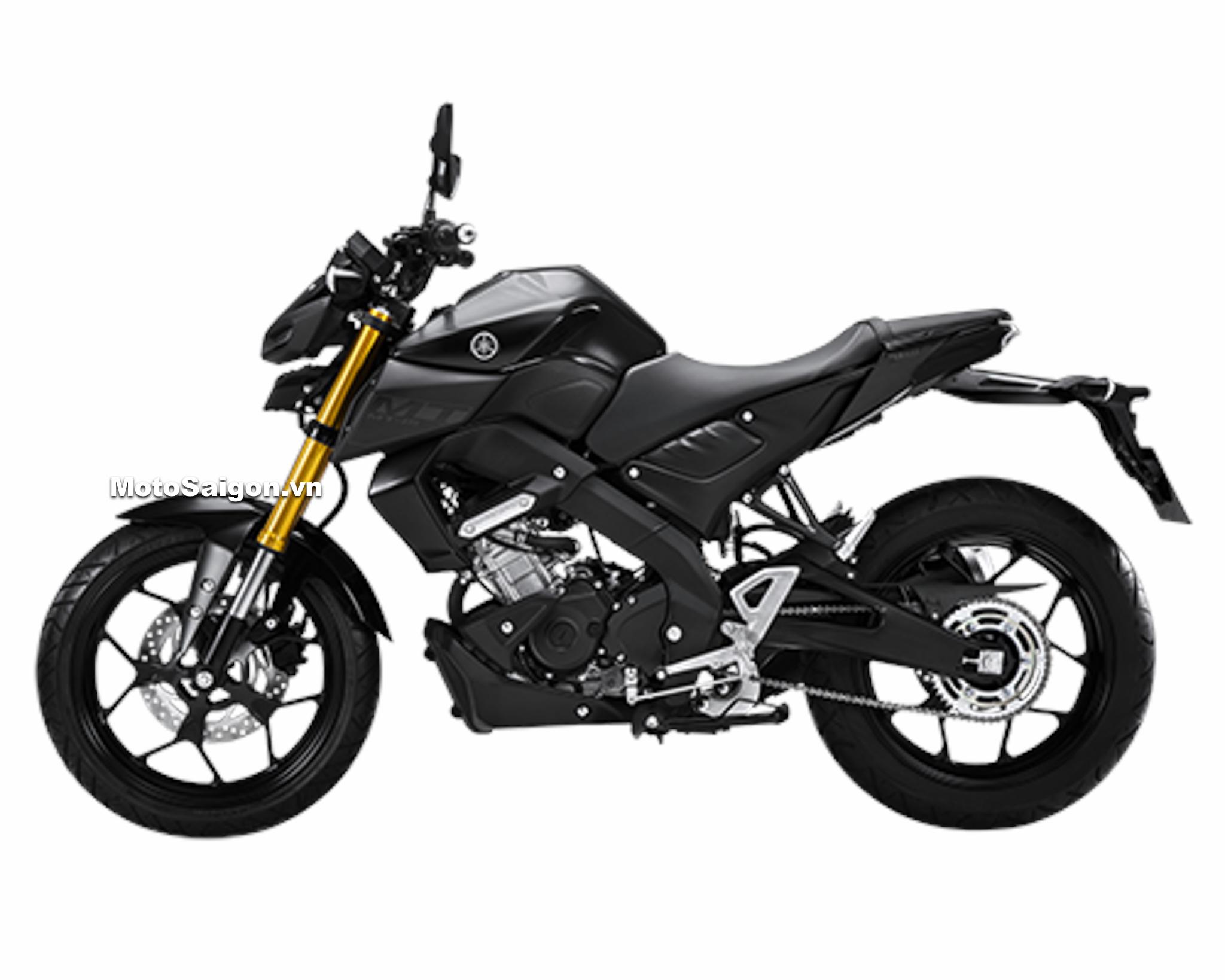 Yamaha MT-15 chính hãng màu Đen giá bán 78 triệu đồng