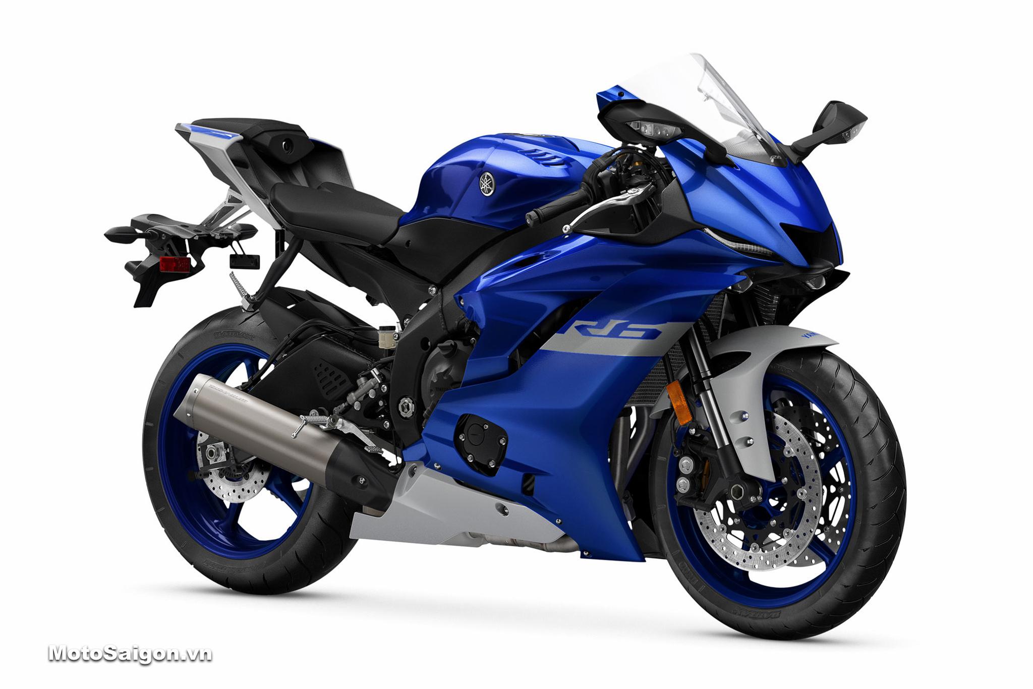 Yamaha R6 2020 màu xanh dương Racing Blue