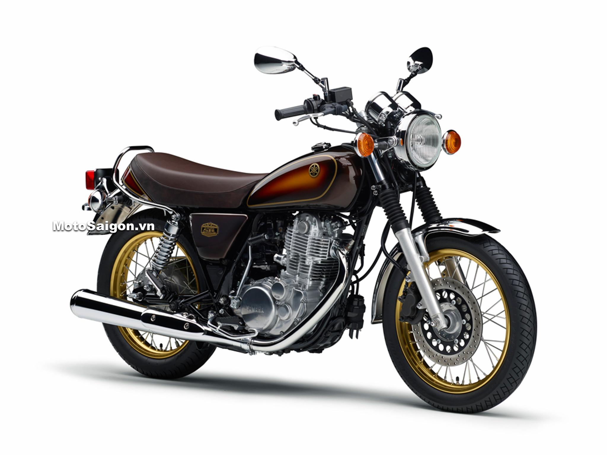 Yamaha SR400 40th Anniversary kỷ niệm 40 năm ra mắt tại Thái Lan