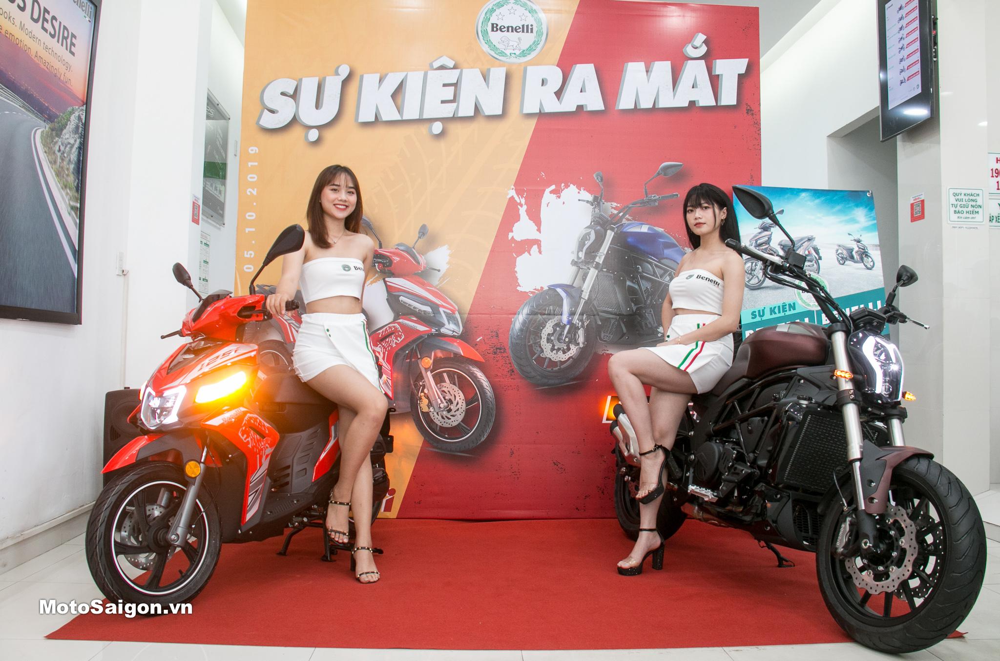 Benelli Việt Nam ra mắt xe tay ga VZ125i xe cruiser 502c kèm giá bán