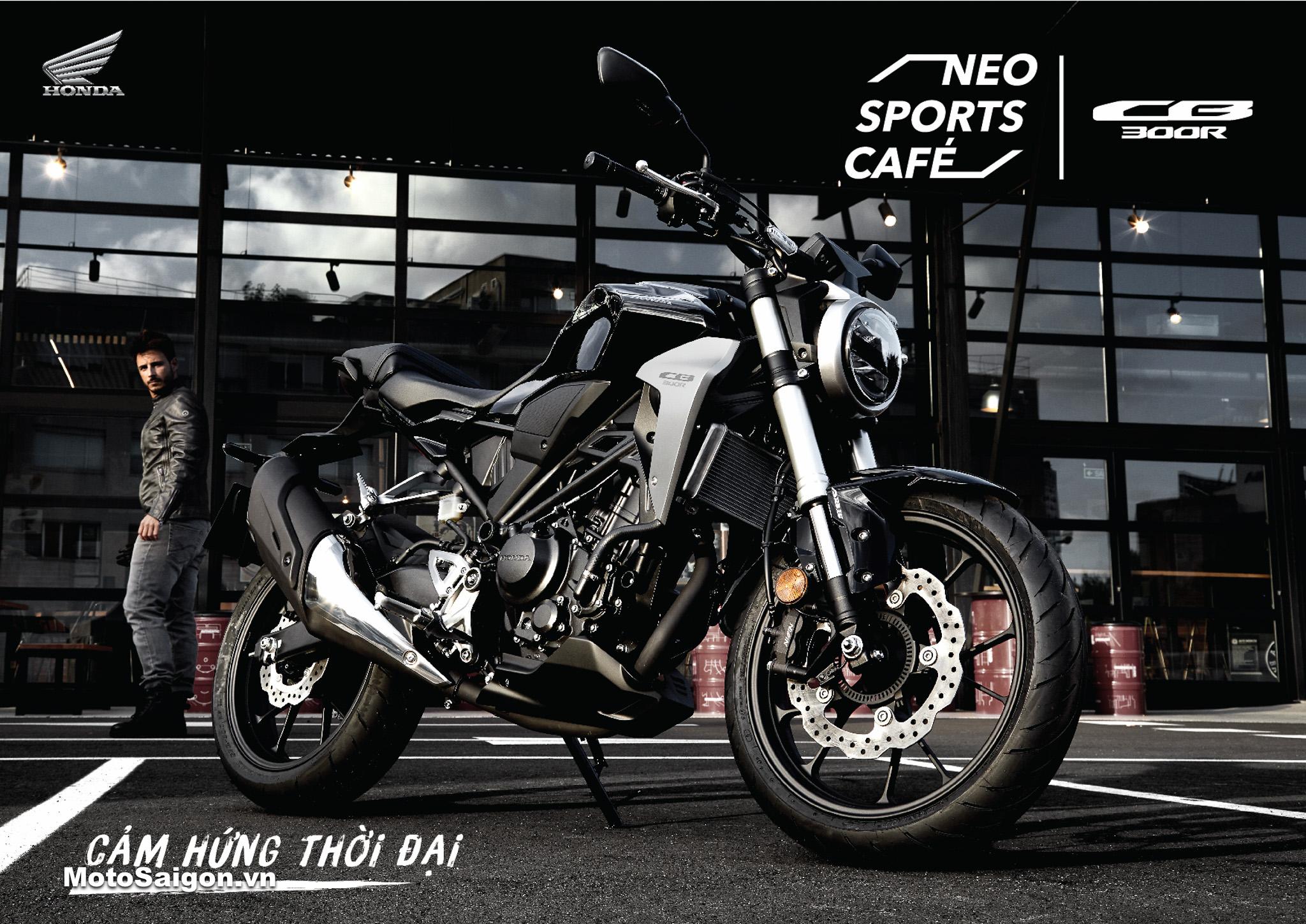 Honda CB300R chính hãng giá bán 140 triệu đồng