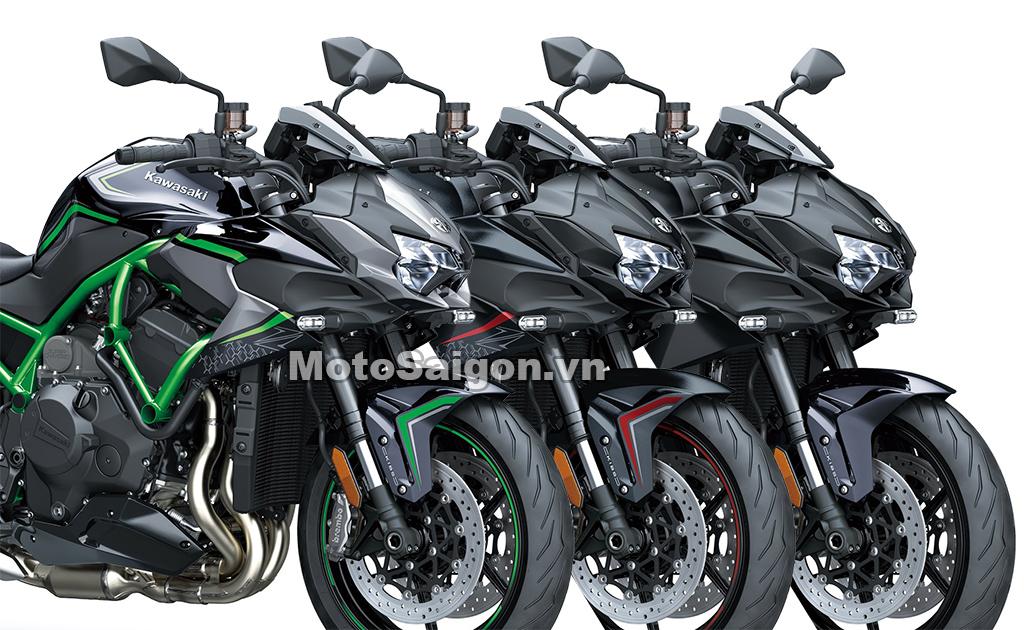 Kawasaki Z H2 2020 với 3 phiên bản màu lựa chọn
