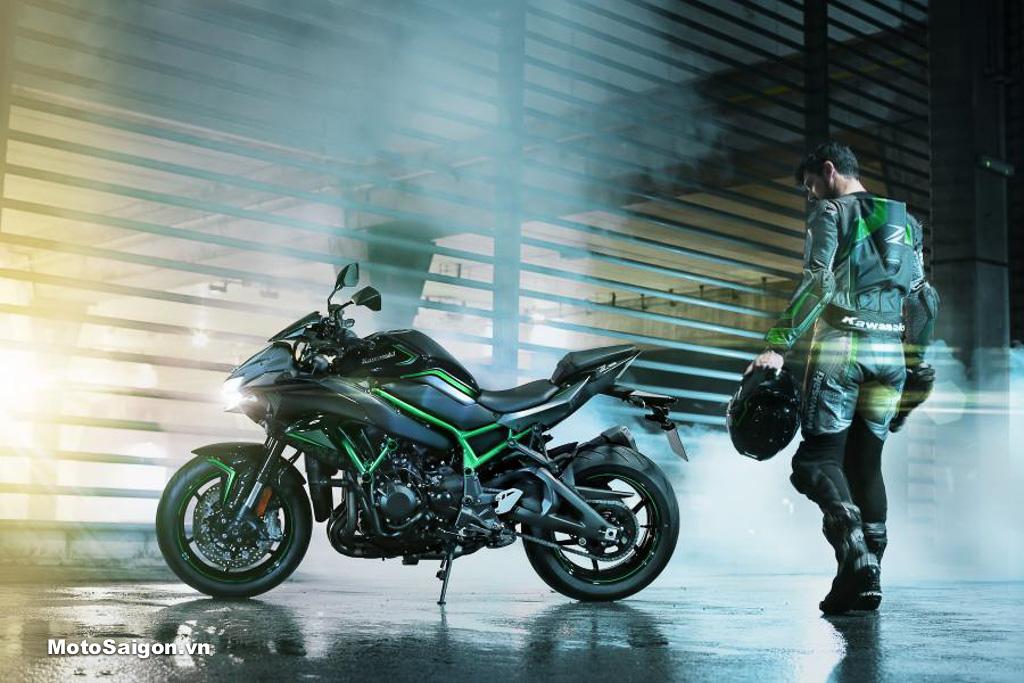 Kawasaki Z H2 chính thức ra mắt tại triển lãm Tokyo Motor Show 2019