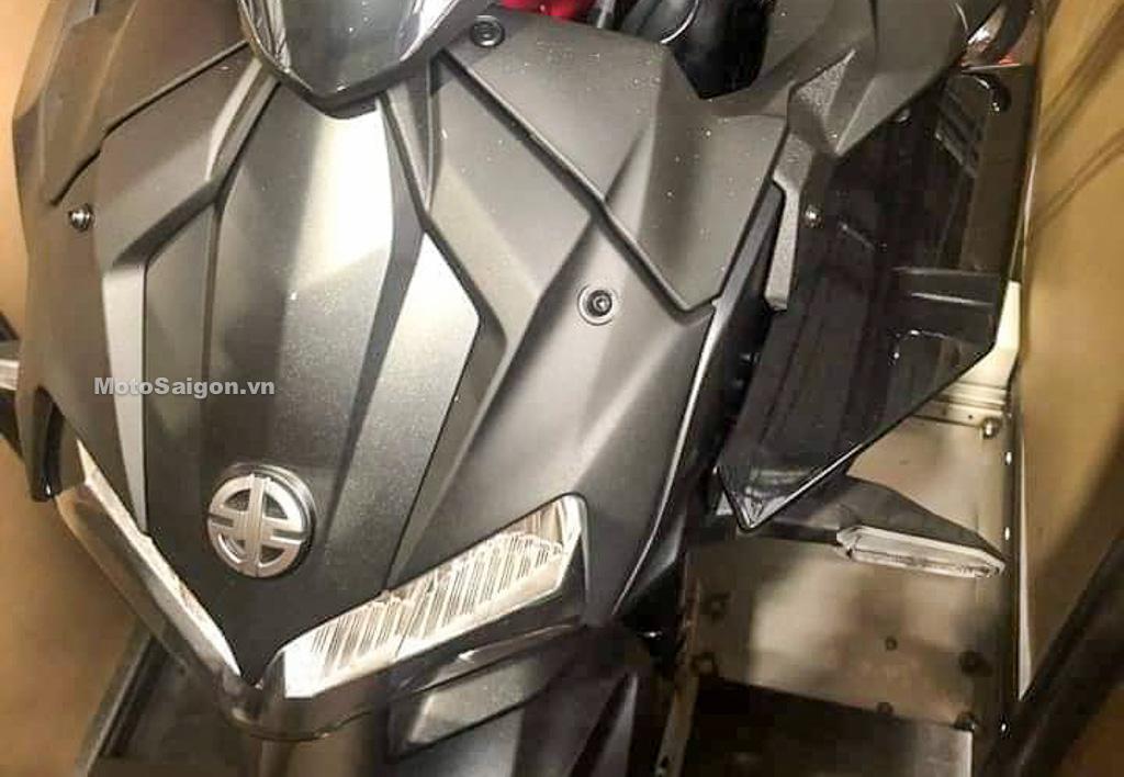 Kawasaki Z H2 lộ hình ảnh thực tế gây sốc vì quá đẹp